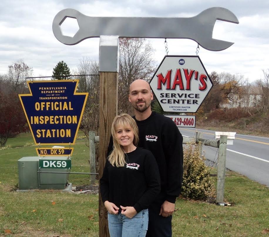 May's Service Center: 940 Furnace Hills Pike, Lititz, PA