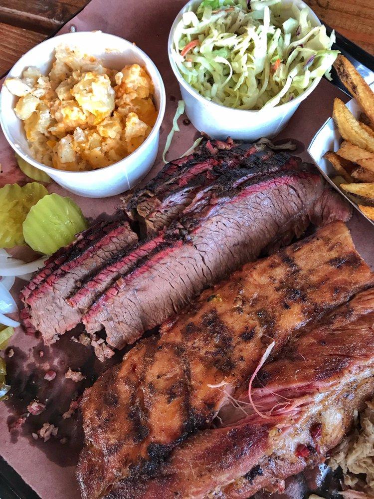 Food from Big B's Texas BBQ