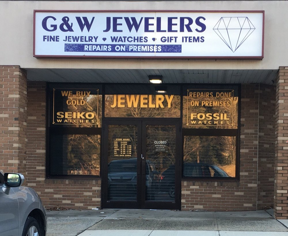 G & W Jewelers: 250 Ryders Ln, Milltown, NJ