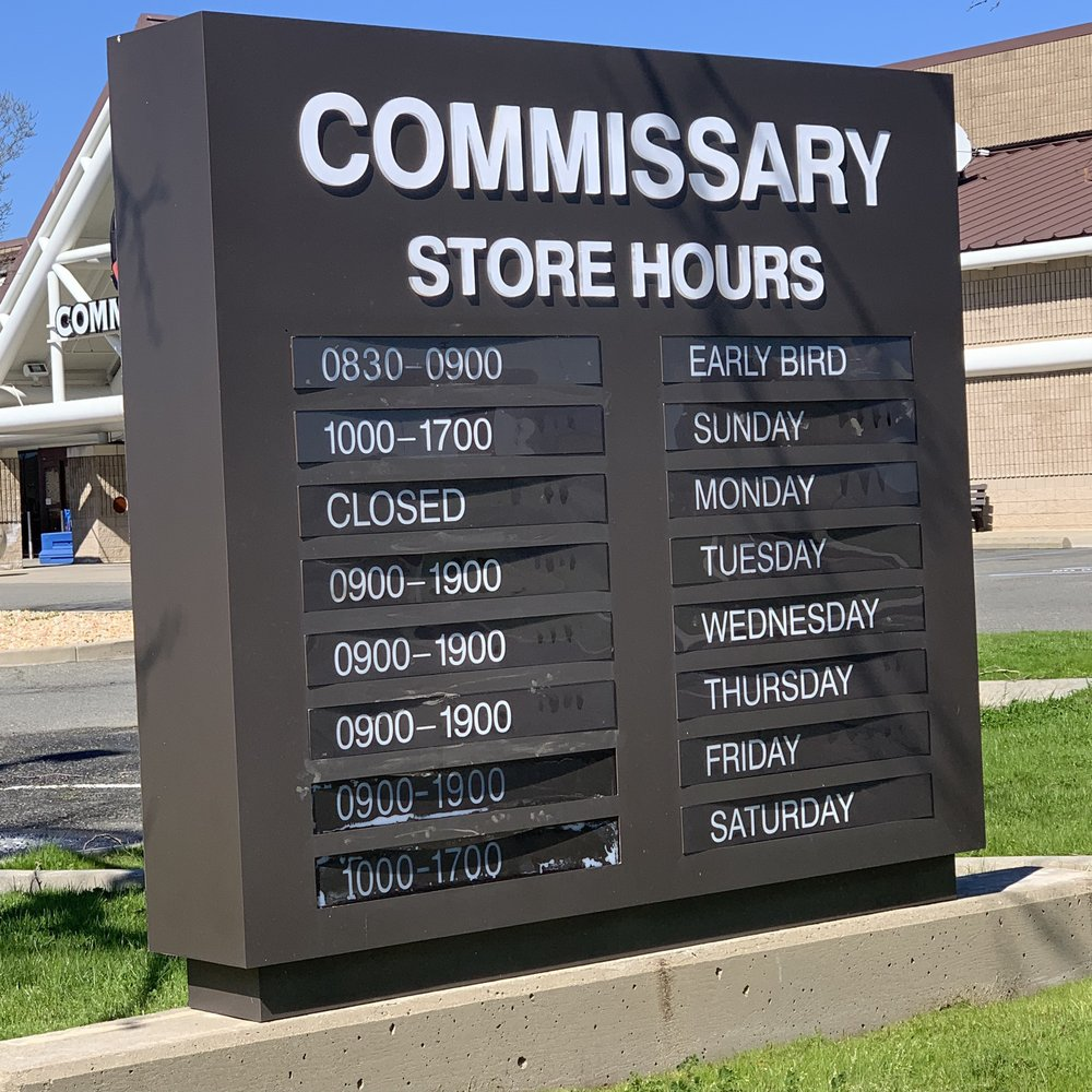 Commissary: 25TH St, Beale AFB, CA