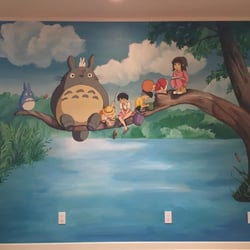 Lovely Photo Of Hannau0027s Murals   San Diego, CA, United States. Totoro Miyazaki  Mural Part 28