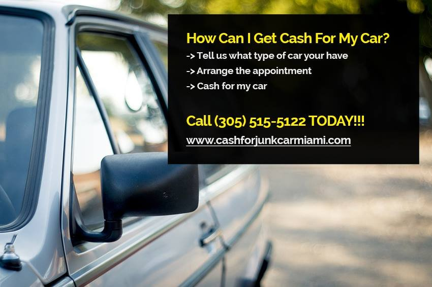 Cash for Junk Car Miami - Car Buyers - 247 SW 8th St, Brickell ...