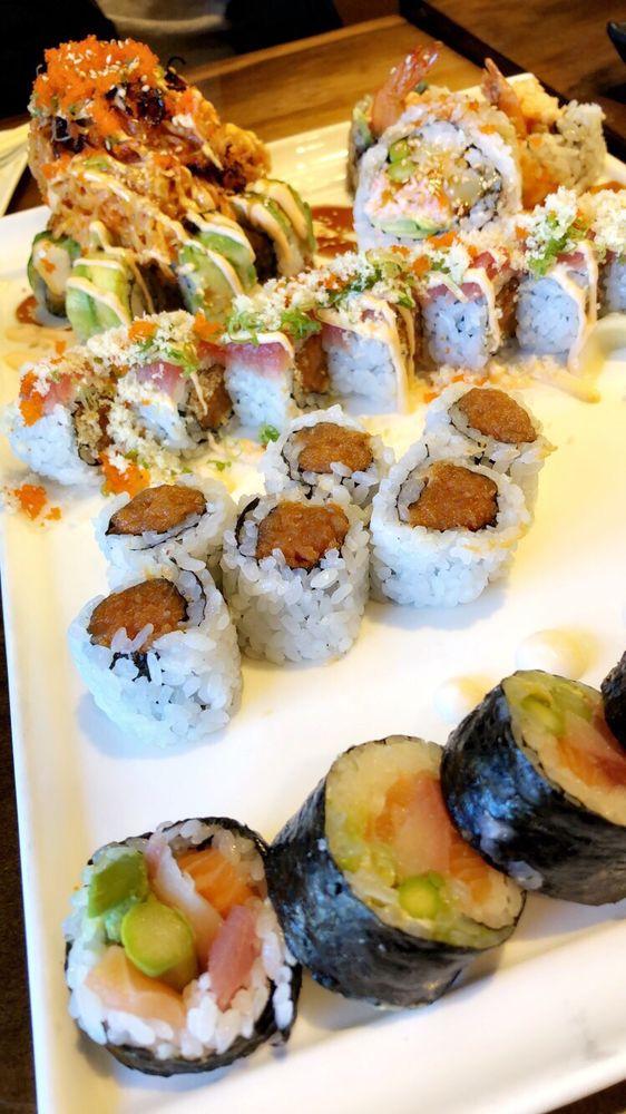 Rock-n-Sake Bar & Sushi: 107 Stonemont Rd, Lafayette, LA