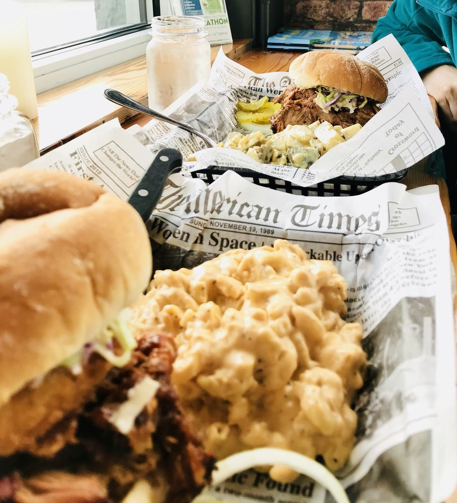 Coyote BBQ Pub: 201 E Front St, Port Angeles, WA