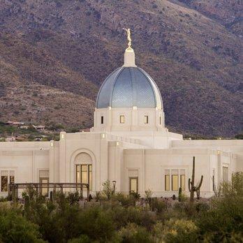 Lds Tucson Arizona Temple Churches 7281 N Skyline Dr