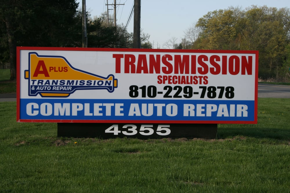 Automotive Repair Signs : A plus transmission auto repair photos reviews