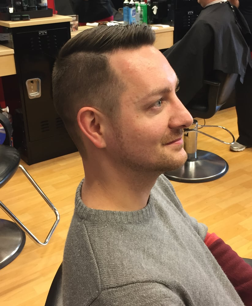 Side View Of Part Haircut By Alyx Yelp