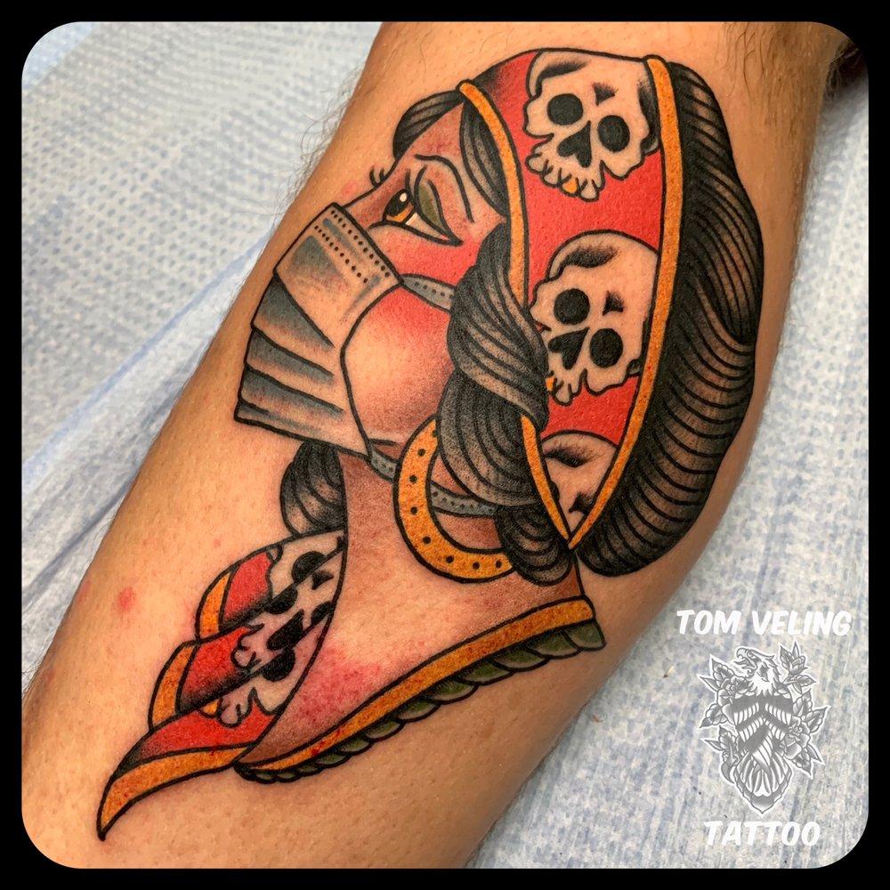 Tom Veling Tattoo: 205 E Market St, Orwigsburg, PA