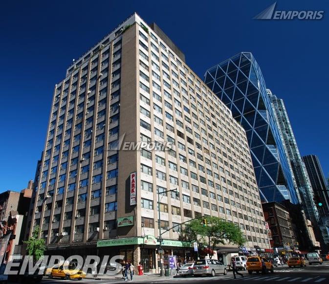 The westerly apartments appartamenti 300 w 55th st for Appartamenti midtown new york