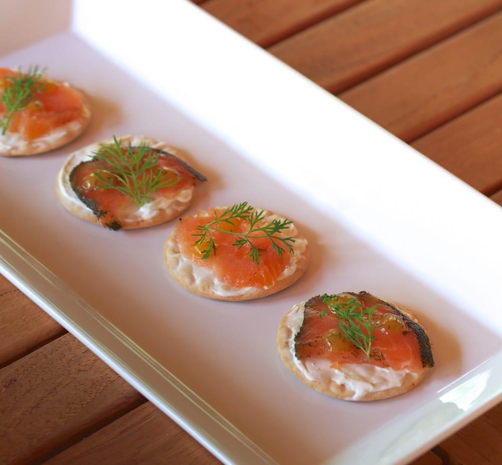 Smoked salmon with dijon cream yelp for Smoked fish near me