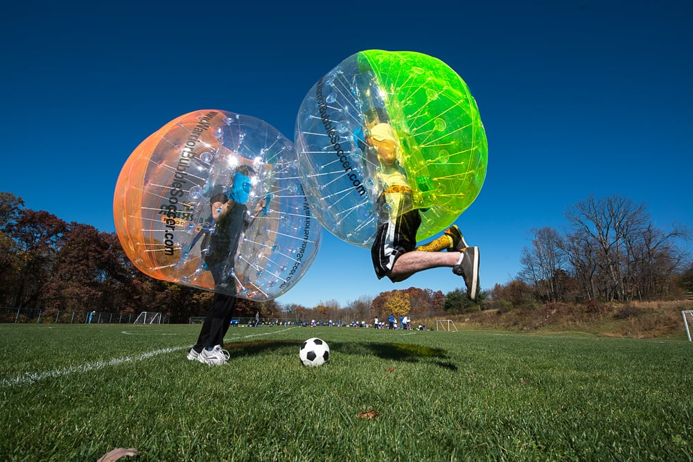 Warrior Bubble Soccer