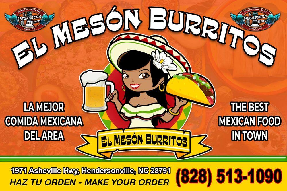 El Meson Burritos - Mexican - 1971 Asheville Hwy, Hendersonville, NC
