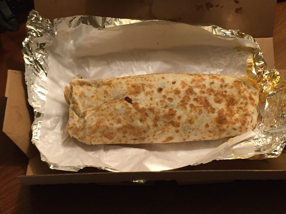 Food from The Big Burrito