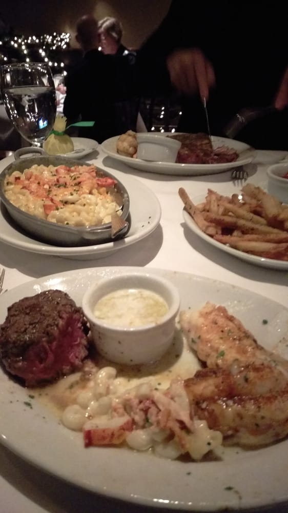 Surf and turf, lobster Mac and cheese - Yelp
