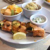 Zoes Kitchen Salmon Kabob zoes kitchen - 35 photos & 17 reviews - salad - 1695 29th st