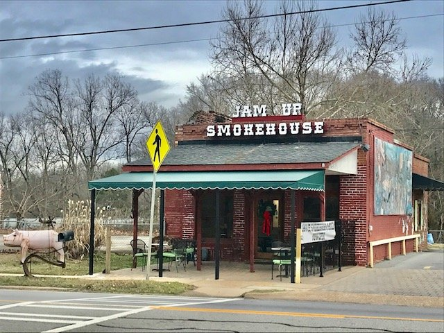 Jam Up Smokehouse & Grill: 665 Main St, Whitesburg, GA