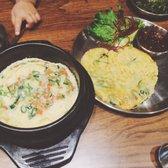 Photo Of Little Piggy S Toronto On Canada Steamed Egg And Korean Pancake