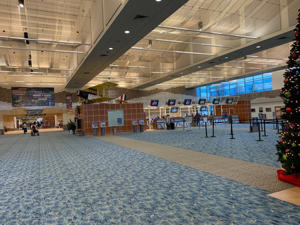 Springfield-Branson National Airport - SGF: 2300 N Airport Blvd, Springfield, MO