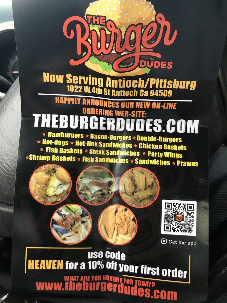 The Burger Dudes: 1022 W 4th St, Antioch, CA