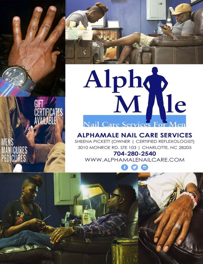 Alphamale Nail Care Services For Men: 3716 W Wt Harris Blvd, Charlotte, NC