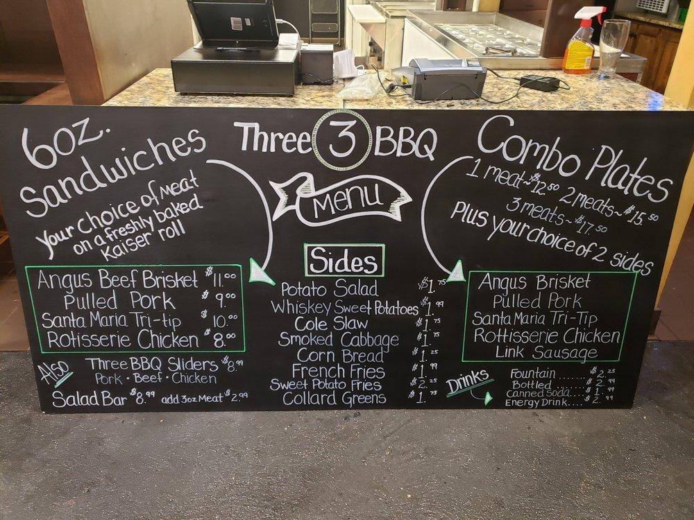Three BBQ: 721 Texas St, Fairfield, CA