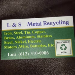 L s metal recycling recycling center lakeville mn phone photo of l s metal recycling lakeville mn united states business reheart Gallery