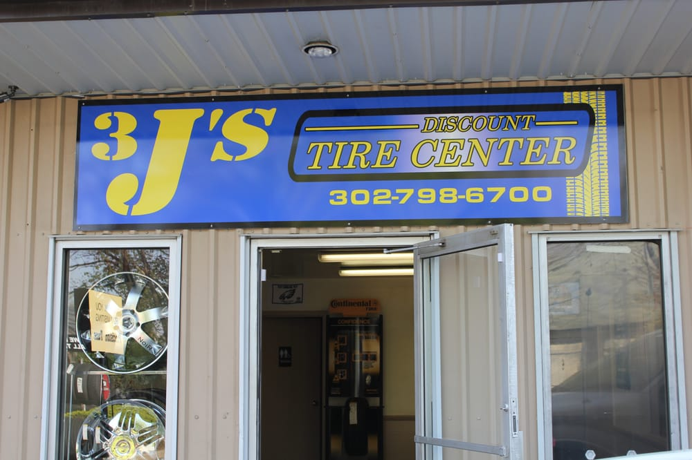3 J's Discount Tires: 3005 Philadelphia Pike, Claymont, DE