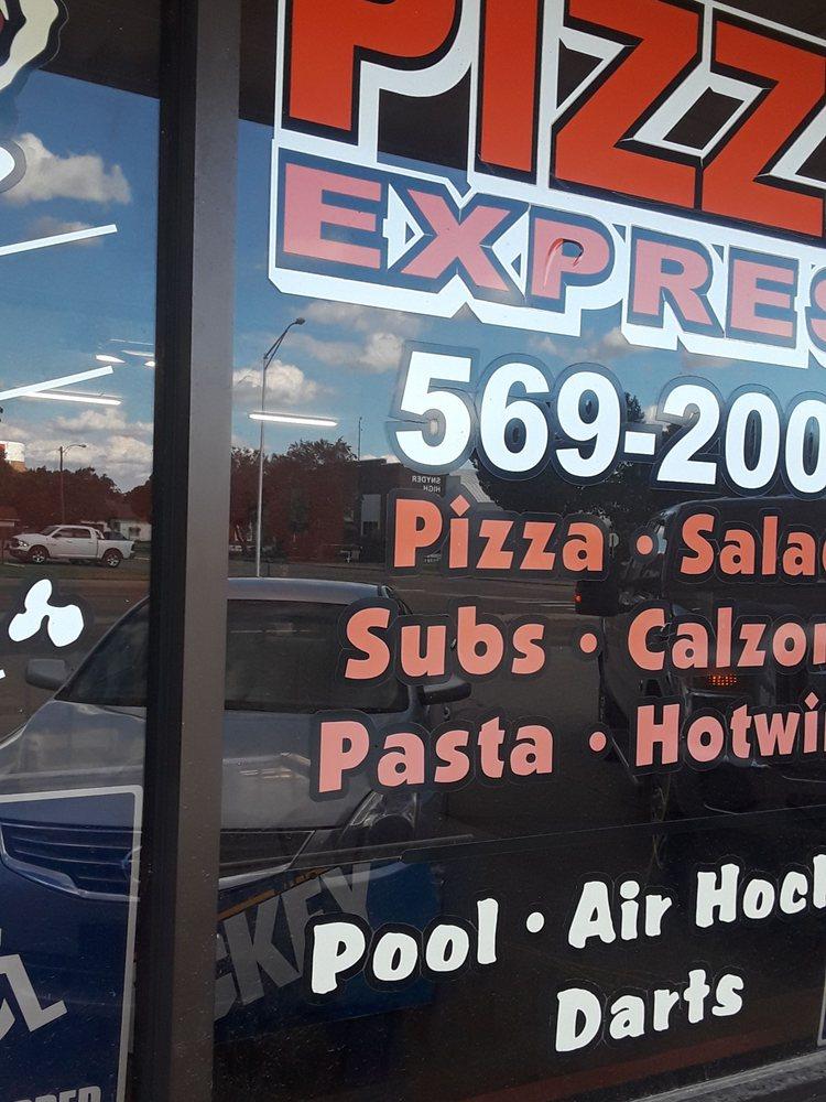 Pizza Express: 701 E St, Snyder, OK