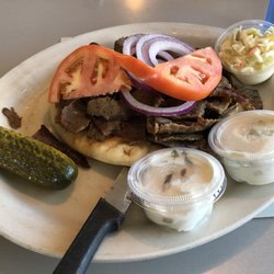 Photo Of Athens Family Restaurant Milwaukee Wi United States Gyro Plate