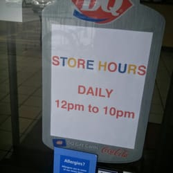 dairy queen hours near me