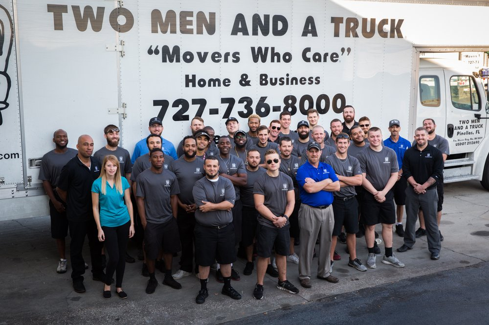 Two Men and a Truck Clearwater: 156 Douglas Rd E, Oldsmar, FL