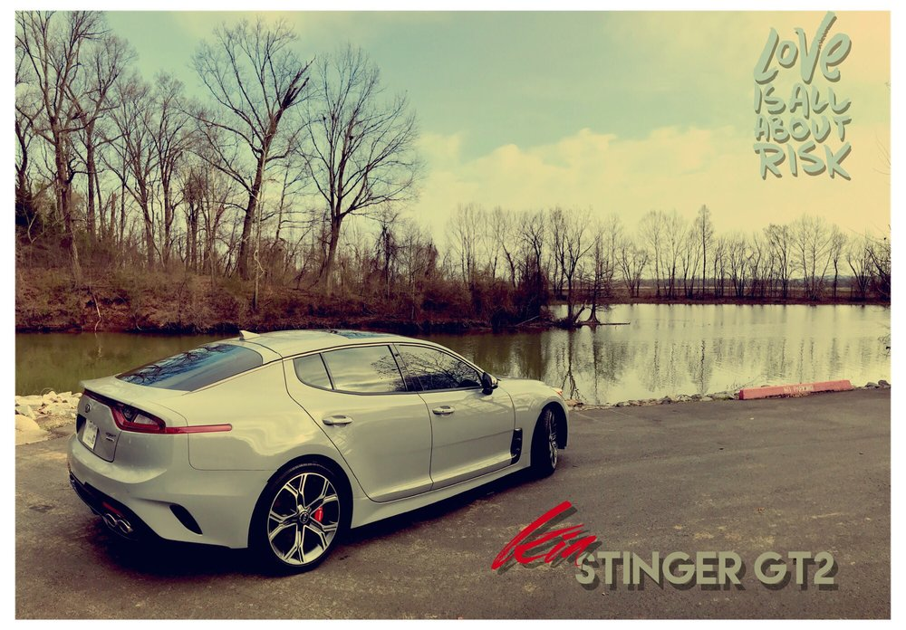 The Ultra cool Kia Stinger GT2 in Ghost Grey! - Yelp