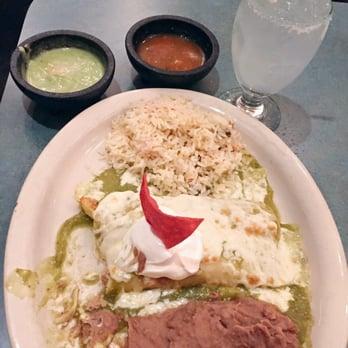 Photo Of El Patio Restaurant And Club   Houston, TX, United States.  Enchiladas