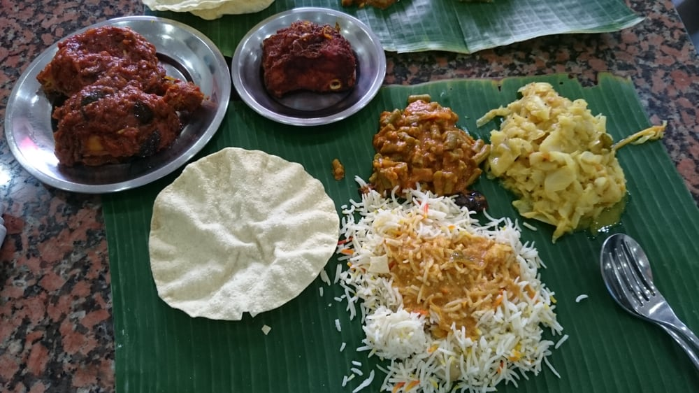 Karu's Indian Banana Leaf