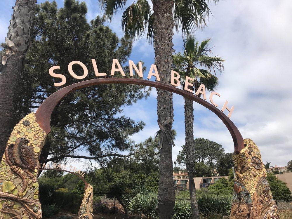 Coastal Rail Trail: Linear Park, Solana Beach, CA