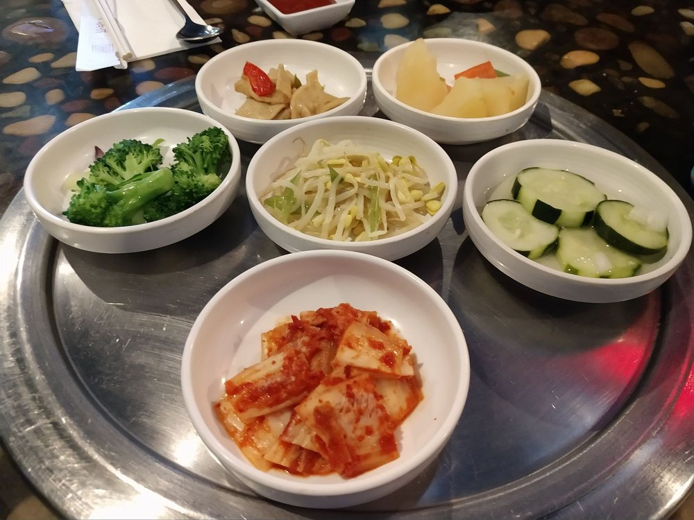 Food from Ssambap Korean BBQ