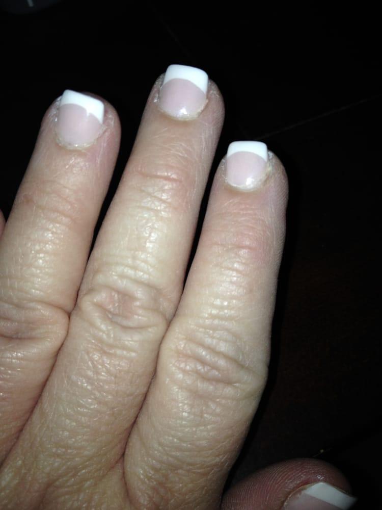 Photo Of V Nails Edmond Ok United States Pink And White