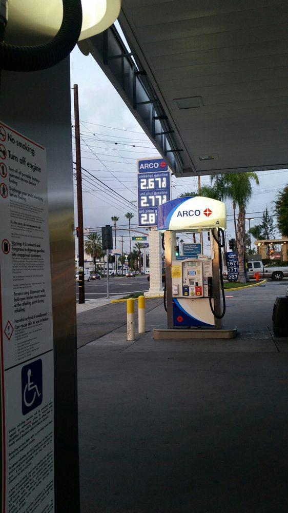 Ok Google Gas Station Near Me >> ARCO Gas Station - Gas Stations - 2493 N Tustin St, Orange, CA - Phone Number - Yelp
