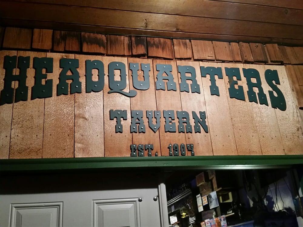 Headquarters Tavern: 112 E Front St, Mineral, WA