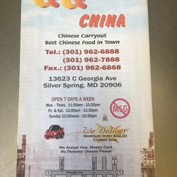 Photo Of Qq China Aspen Hill Md United States