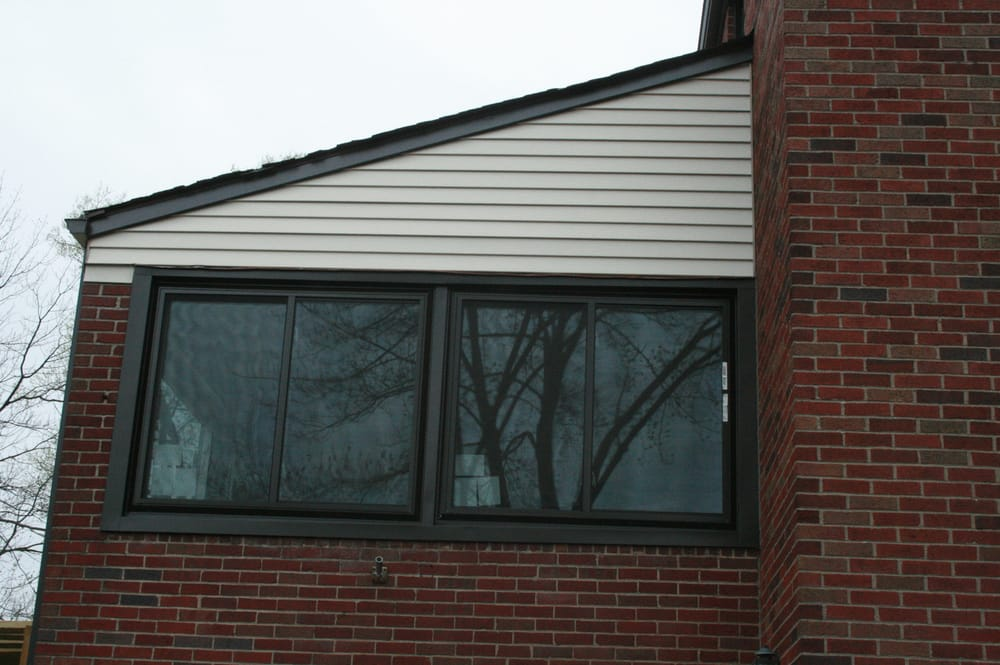 Alside Bronze Vinyl Replacement Windows Yelp