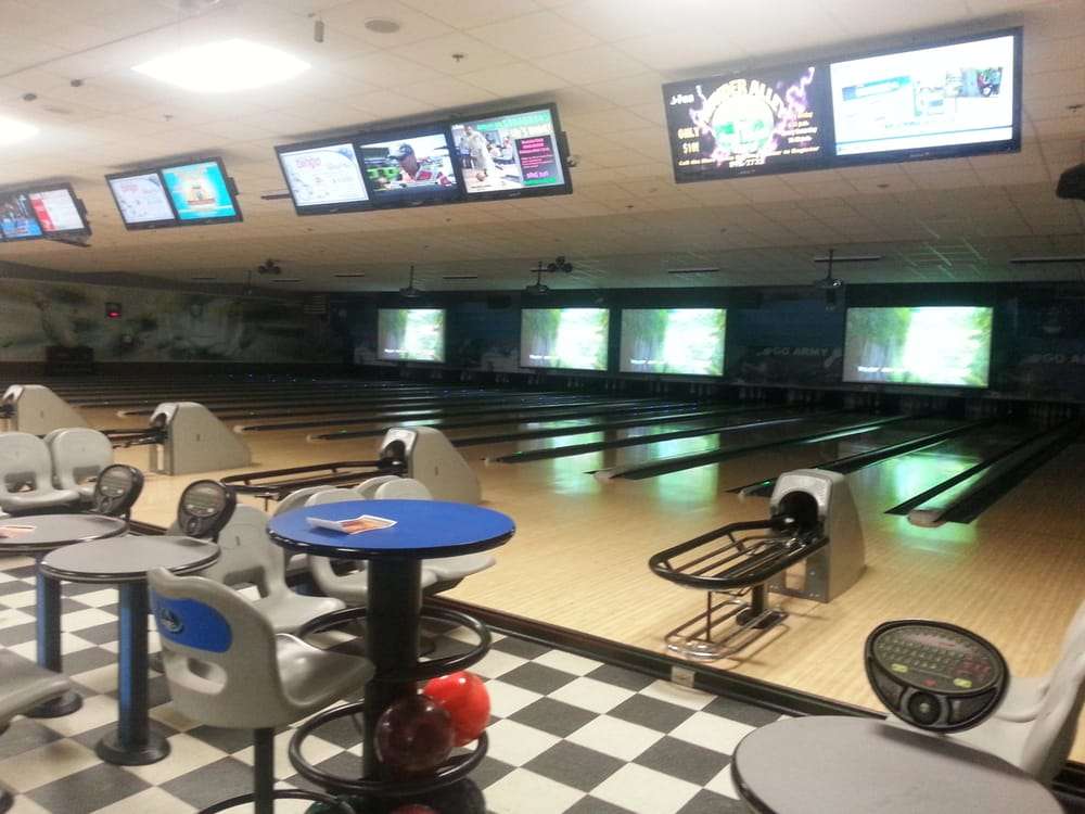 Shaw Lanes Bowling Center: 416 Recreation St, Shaw Air Force Base, SC