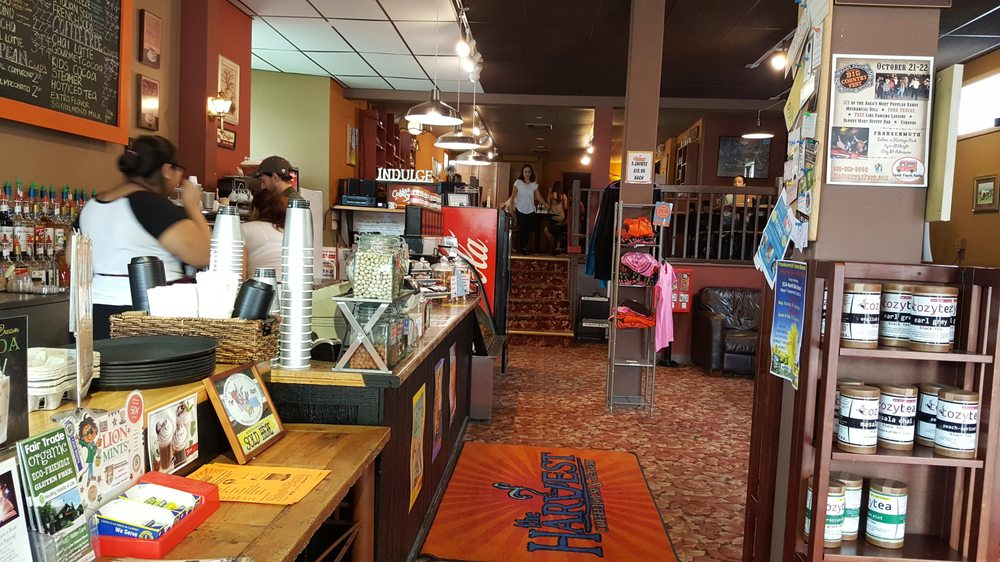 Harvest Coffeehouse & Beanery: 626 Main St, Frankenmuth, MI