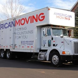 Photo Of American Moving U0026 Storage   Broomfield, CO, United States.  Peterbilt Tandem