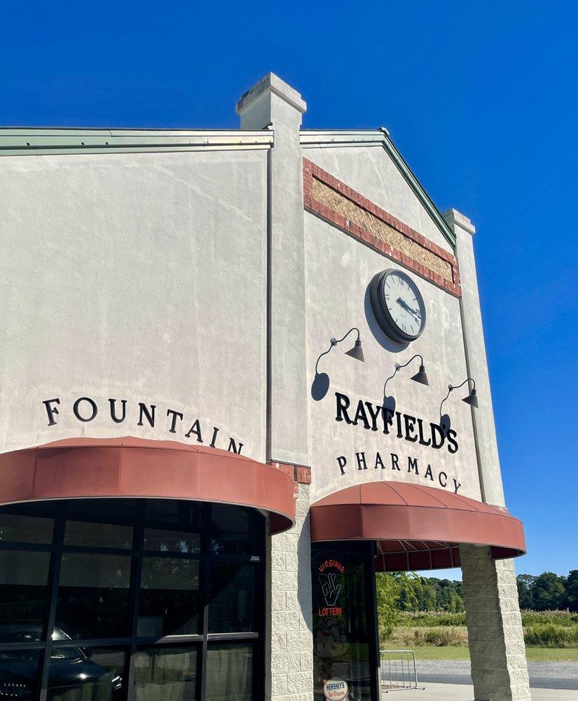 Rayfield's Pharmacy: 2 Fig St, Cape Charles, VA