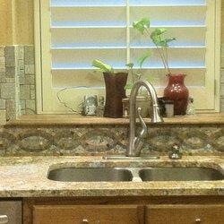 Photo Of B W Designer Tile Tulsa Ok United States Kitchen Splash In