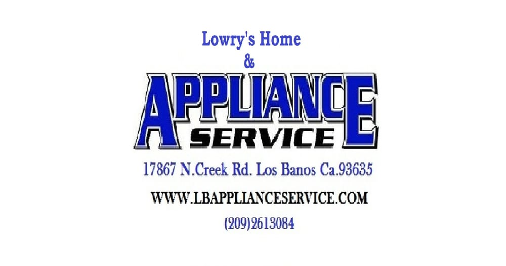 Lowry's Appliance & Air Conditioning Service: Los Banos, CA
