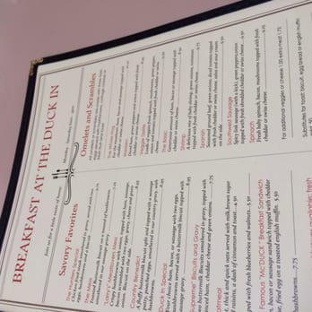 Stanwood Cafe Menu