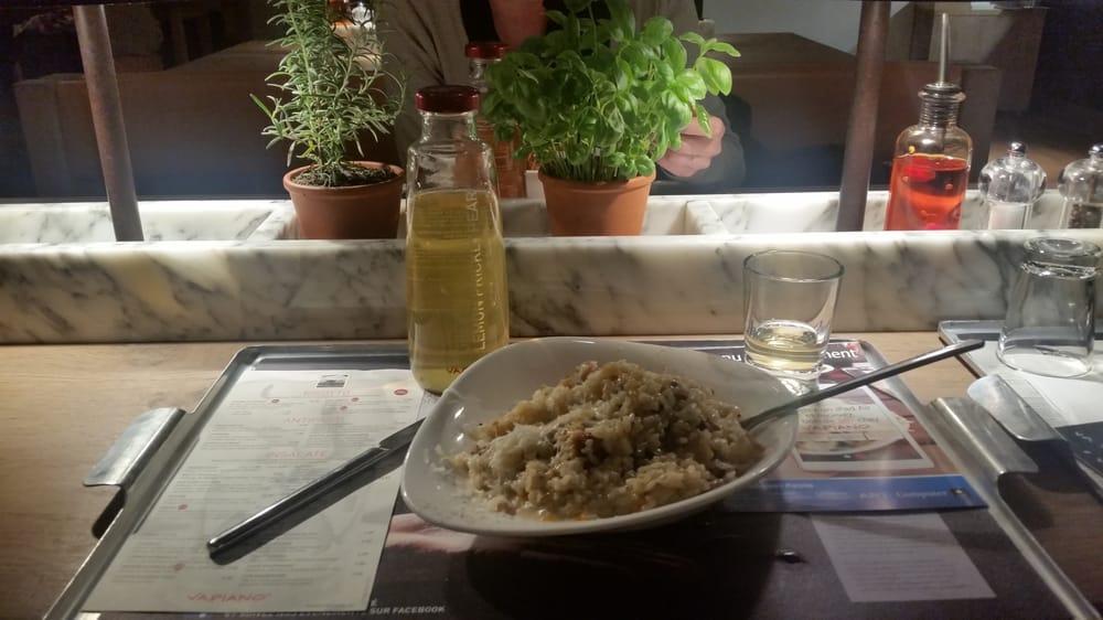 risotto poulet champignons parmesan vin blanc et cr me un d lice yelp. Black Bedroom Furniture Sets. Home Design Ideas