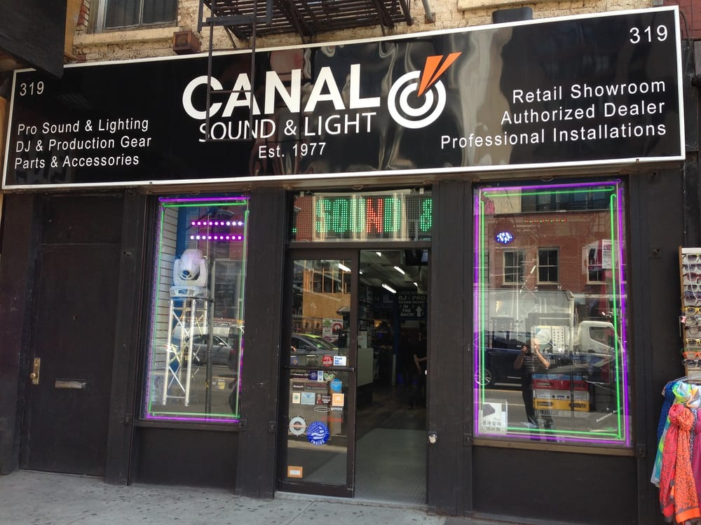 Canal Sound & Light: 319 Canal St, New York, NY